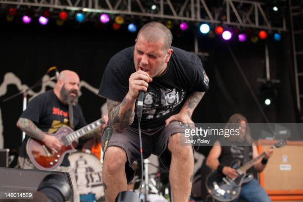 Vocalist Phil Anselmo of Down performs live during the 2012 Rock On The Range festival at Crew Stadium on May 20 2012 in Columbus Ohio