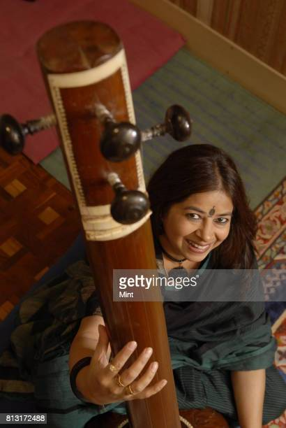 Vocalist Rekha Bharadwaj photographed during an interview with Mint at her studio in Mumbai