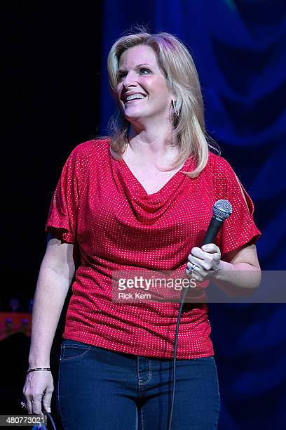 Vocalist Trisha Yearwood performs in concert at ACL Live on March 26 2014 in Austin Texas