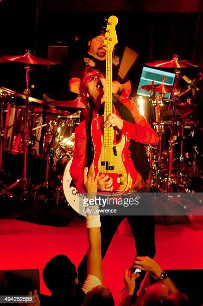 Vocalist/bassist Glenn Hughes of California Breed performs at The Whiskey A Go Go on May 28 2014 in West Hollywood California