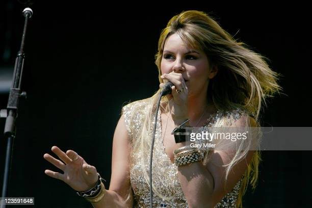 Vocalist/musician Grace Potter performs with the Nocturnals during the second day of the Austin City Limits music Festival at Zilker Park on October...