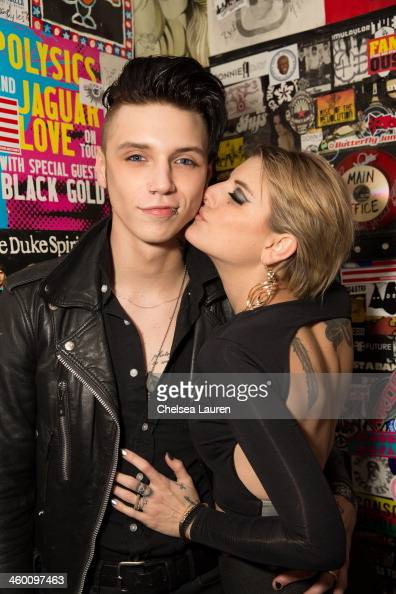 Andy Biersack And Juliet Simms Stock Photos and Pictures ...