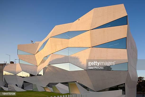 Vodafone Headquarters Building Barbosa Guimaraes Architects Porto Portugal Corner Elevation Of Angular Structurebarbosa Guimaraes Architects Portugal...