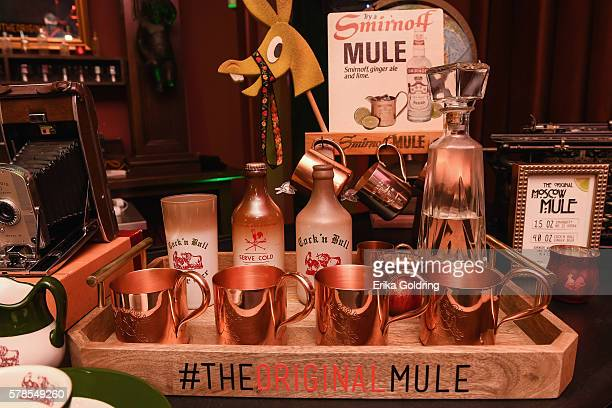SMIRNOFF vodka celebrates the 75th Anniversary of the original Moscow Mule during Tales of the Cocktail at Little Gem Saloon on July 21 2016 in New...