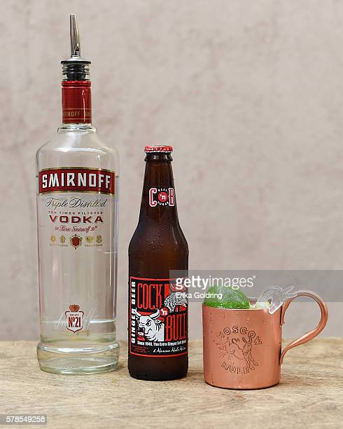 SMIRNOFF vodka teaches invited guests how to create an original Moscow Mule with SMIRNOFF No 21 vodka Cockn Bull® Ginger Beer and a squeeze of lime...