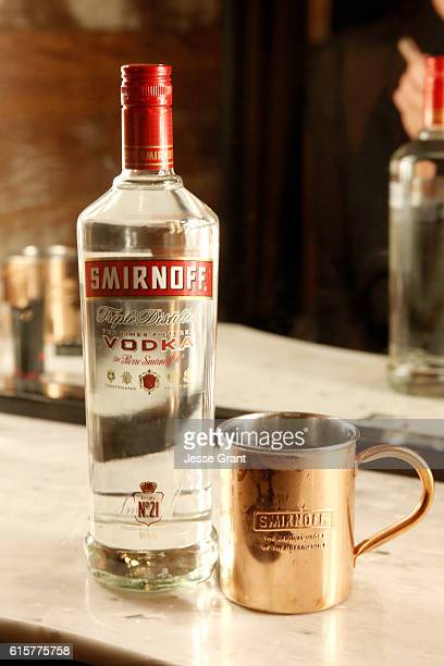 SMIRNOFF vodka the brand that invented the Moscow Mule in 1941 celebrates the classic cocktails 75th anniversary at an event in Los Angeles CA on...