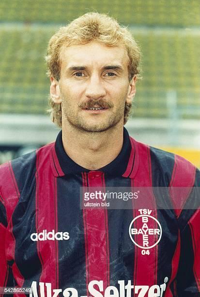 Voeller Rudi *Fussballspieler Trainer Sportdirektor DMitglied der Nationalelf 19821994 Portrait Juli 1995