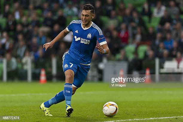 1792015UEFA Fc Groningen vs Olympique de MarseilleLucas Ocampos of Olympique de Marseille during the UEFA Europa League match between FC Groningen...