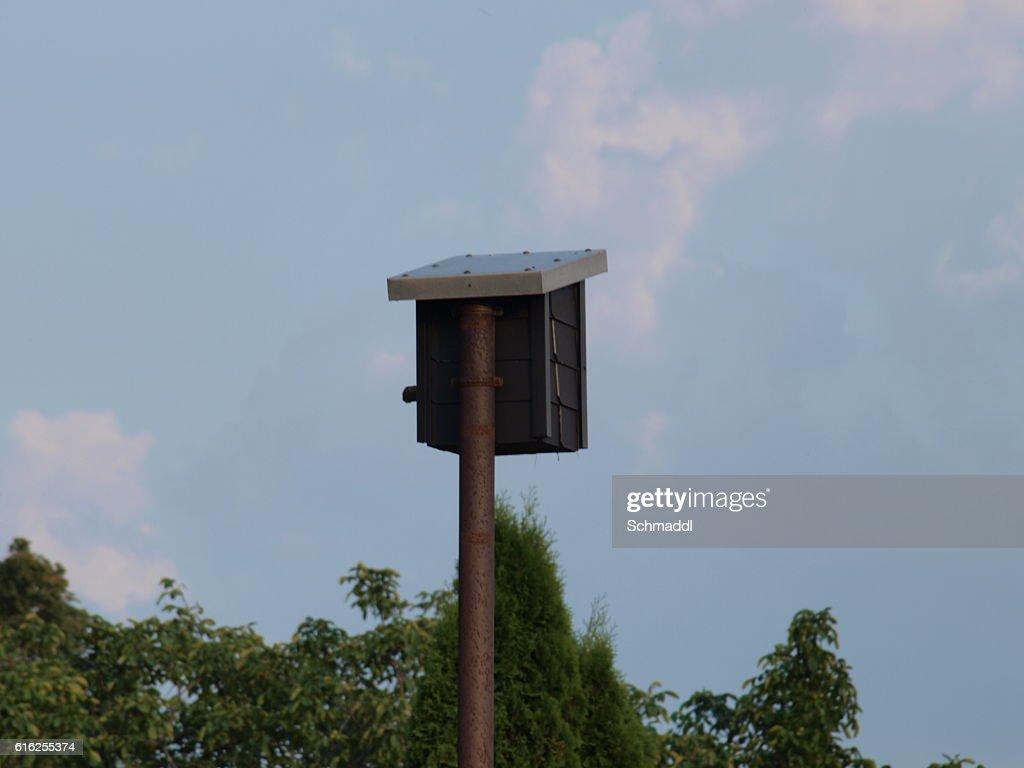 Vogelhäuschen : Foto de stock