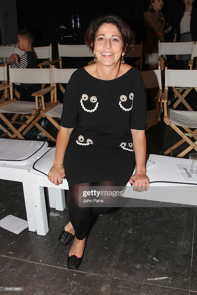 Vogue Bambini Editor In Chief Guiliana Parabiago attends the Swarovski Elements at Petite Parade NY Kids Fashion Week In Collaboration With VOGUEbambini - Day 2 at Industria Superstudio on October 21, 2012 in New York City.