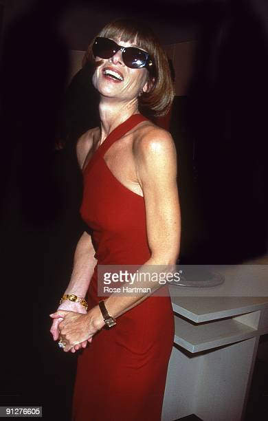 Vogue editor in chief Anna Wintour at Barney's New York City 1999