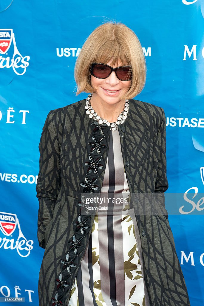 Vogue Editor-in-Chief <a gi-track='captionPersonalityLinkClicked' href=/galleries/search?phrase=Anna+Wintour&family=editorial&specificpeople=202210 ng-click='$event.stopPropagation()'>Anna Wintour</a> attends the 13th Annual USTA Serves Opening Night Gala at USTA Billie Jean King National Tennis Center on August 26, 2013 in New York City.