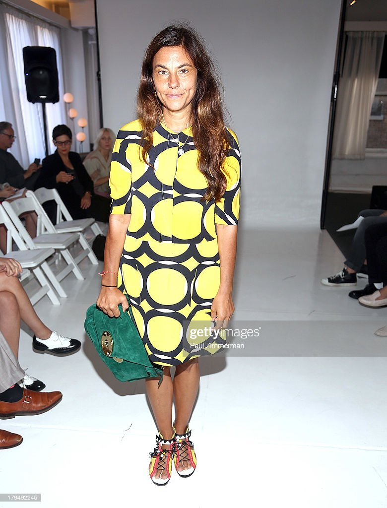 Vogue Fashion Director, Gloria Baume attends the Organic By John Patrick show during Spring 2014 Mercedes-Benz Fashion Week on September 4, 2013 in New York City.