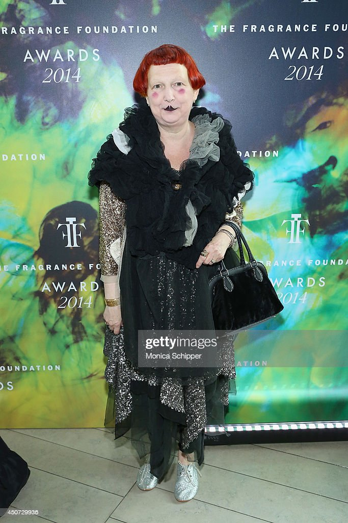 Vogue Fashion Editor Lynn Yaeger attends the 2014 Fragrance Foundation Awards on June 16 2014 in New York City