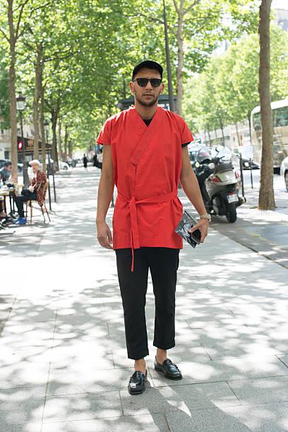 Street Style Paris Fashion Week Menswear Spring Summer