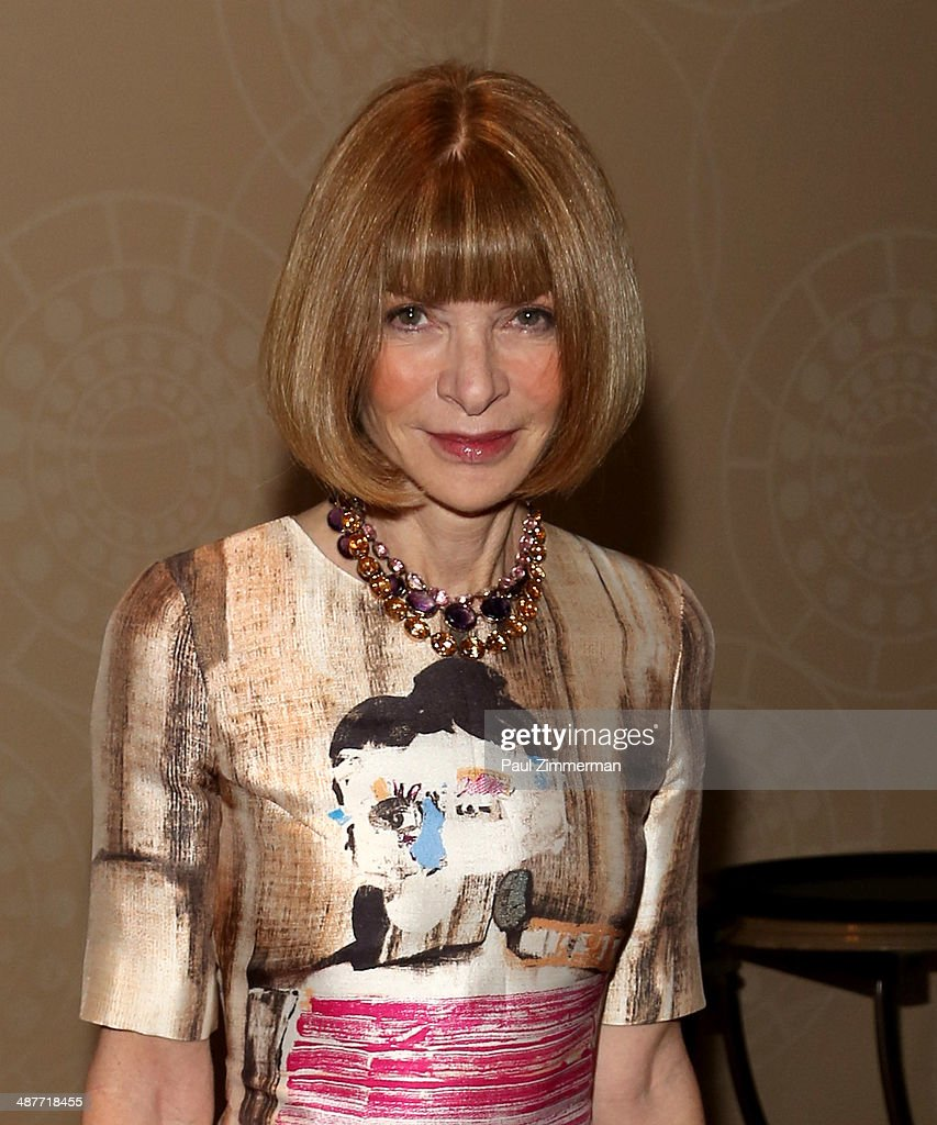 Vogue Magazine editor-in-chief <a gi-track='captionPersonalityLinkClicked' href=/galleries/search?phrase=Anna+Wintour&family=editorial&specificpeople=202210 ng-click='$event.stopPropagation()'>Anna Wintour</a> attends the 2014 National Magazine Awards at The New York Marriott Marquis on May 1, 2014 in New York City.
