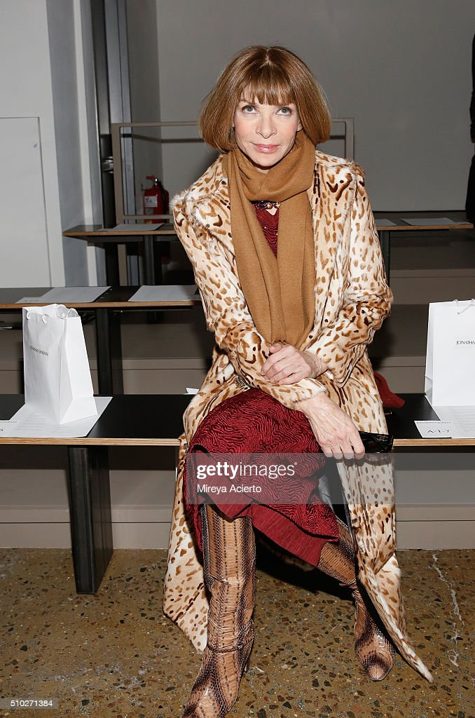 Jonathan Simkhai Front Row Fall 2016 Made Fashion Week Getty Images