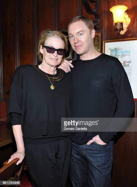 Vogue West Coast Director Lisa Love and Coach Creative Director Stuart Vevers attend the Coach Rodarte celebration for their Spring 2017...