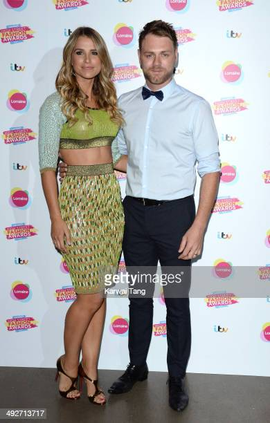 Vogue Williams and Brian McFadden attend Lorraine's High Street Fashion Awards held at Vinopolis on May 21 2014 in London England