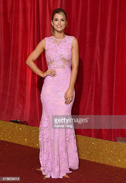 Vogue Williams attends the British Soap Awards at Manchester Palace Theatre on May 16 2015 in Manchester England