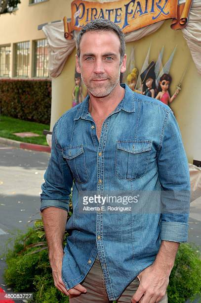 Voice actor Carlos Ponce attends Disney's 'The Pirate Fairy' World Premiere at Walt Disney Studios on March 22 2014 in Burbank California On Bluray...