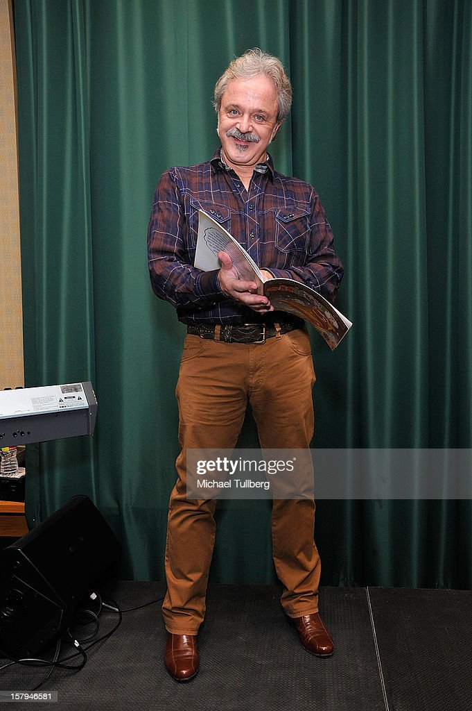 Voice actor Jim Cummings attends a reading of the new Christmas children's book 'ELFBOT' at The Americana at Brand on December 7, 2012 in Glendale, California.