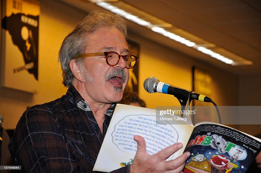 Voice actor Jim Cummings reads from the new Christmas children's book 'ELFBOT' at The Americana at Brand on December 7, 2012 in Glendale, California.