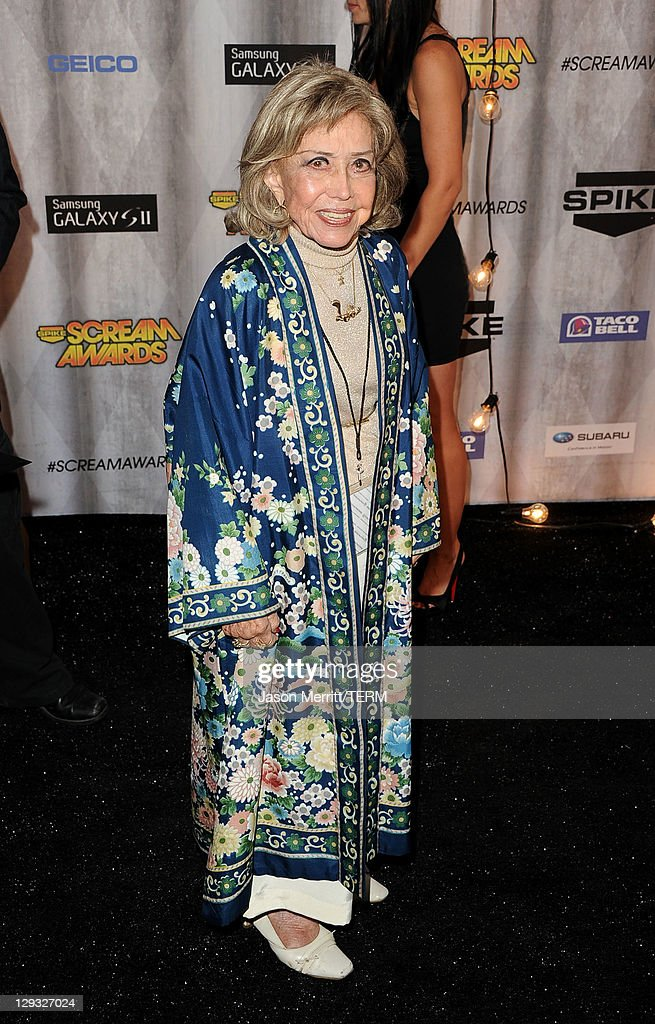 Voice actor June Foray arrives at Spike TV's 'SCREAM 2011' awards held at Universal Studios on October 15, 2011 in Universal City, California.