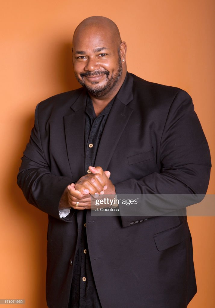 Voice actor Kevin Michael Richardson poses during the 2013 American Black Film Festival on June 20, 2013 in Miami, Florida.