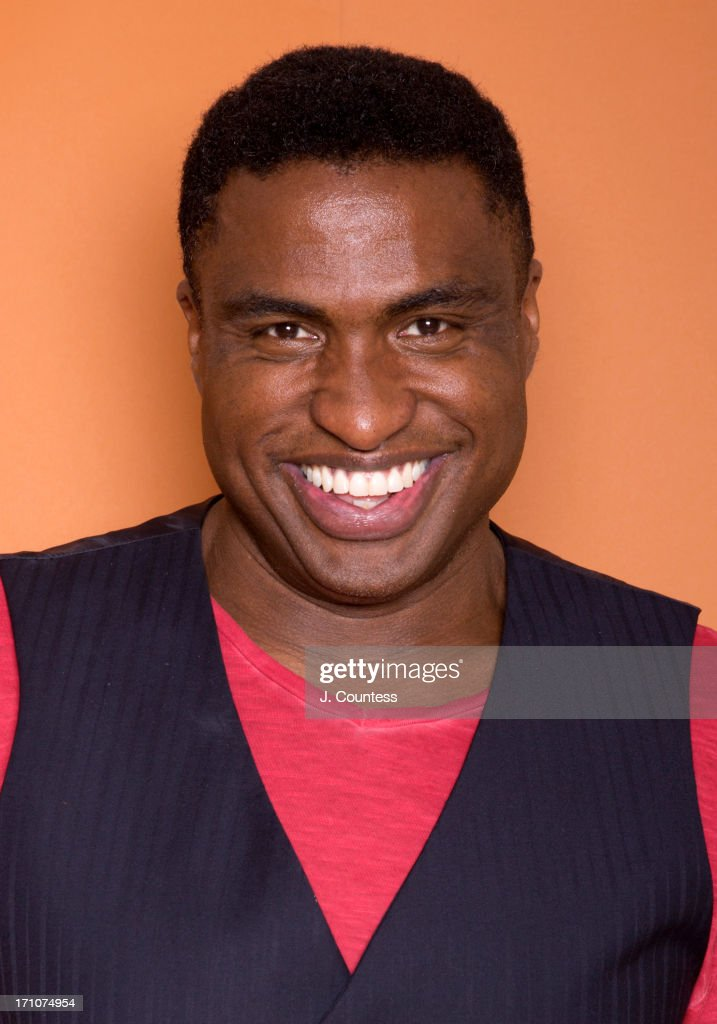 Voice actor Michael Leon Wooley poses during the 2013 American Black Film Festival on June 20, 2013 in Miami, Florida.