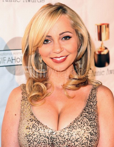 voice actor tara strong attends the 39th annual annie awards at