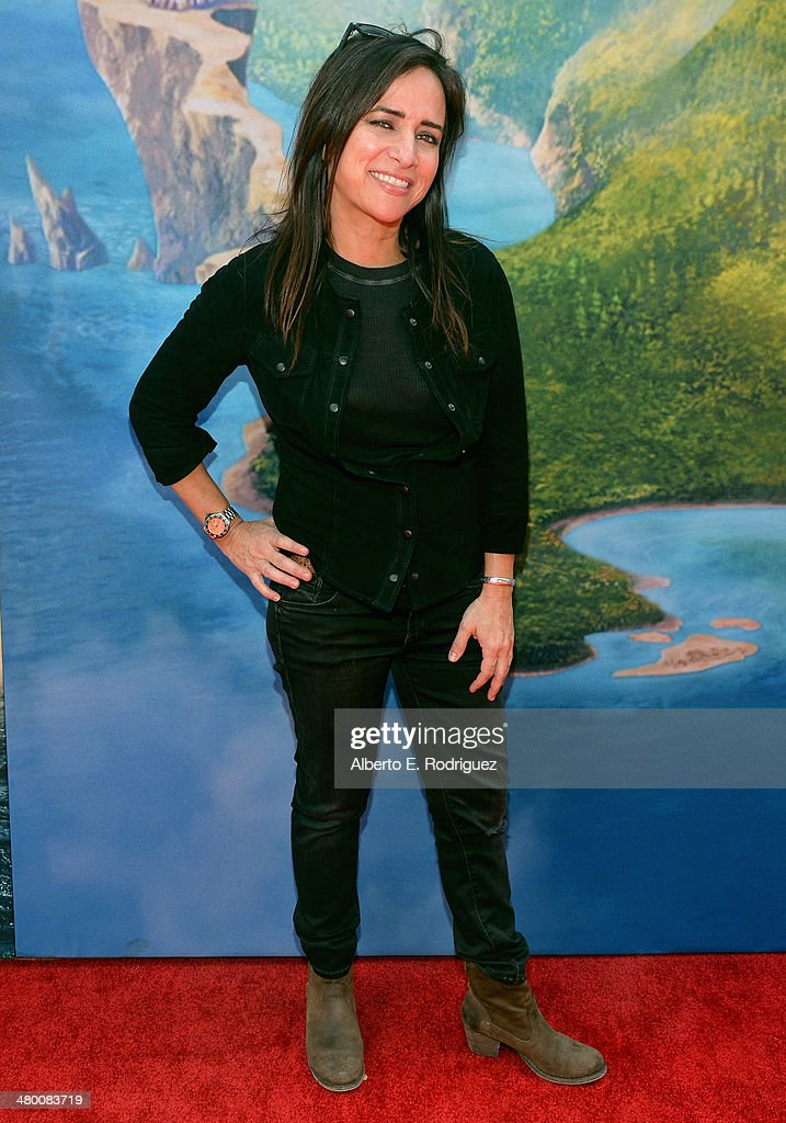 Voice actress Pamela Adlon attends Disney's 'The Pirate Fairy' World Premiere at Walt Disney Studios on March 22, 2014 in Burbank, California. On Blu-ray and Digital HD April 1.