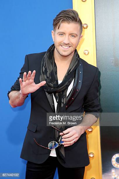 Voice contestant Billy Gilman attends the premiere Of Universal Pictures' 'Sing' on December 3 2016 in Los Angeles California