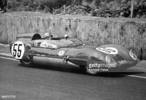 Voici la voiture n°55 'Lotus' pilotée par Allison et Keith qui a remporté la victoire au classement à l'indice de la performance au Mans France le 23...