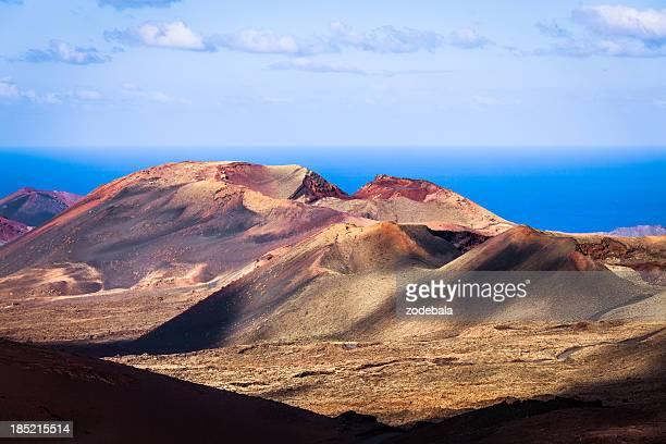 Volcanic Landscape in Timanfaya National Park, Canary Islands