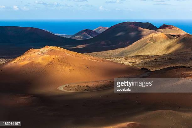 Paesaggio vulcanico del Parco Nazionale di Timanfaya, Isole Canarie