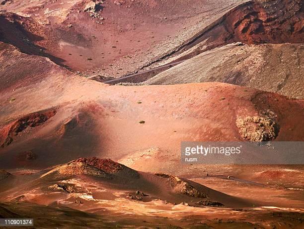 Vulkanlandschaft, zu Lanzarotes Island