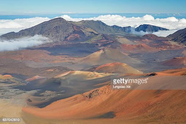 Volcanic Landscape of Haleakala Crater, Maui, Hawaii