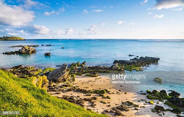 Volcanic remnants Lord Howe Island Lagoon