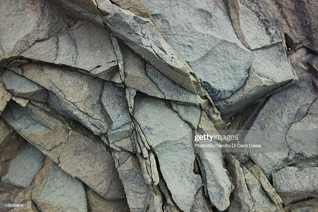 Volcanic rock, close-up