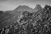 Volcanic rocks in Adrar Chiriet
