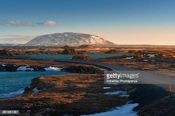 Volcano at Myvatn