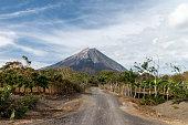 volcano Concepcion view in Ometepe, Nicaragua