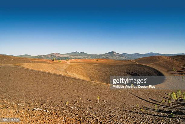 Volcano crater lassen volcanic national park