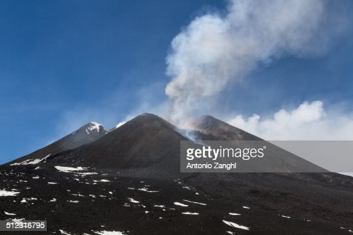 Volcano Etna eruption 12 April 2012