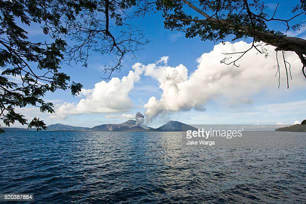 Volcano, Mt. Tavurvur, Rabaul, Papua New Guinea