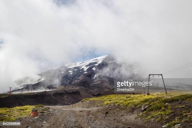 Volcano Villarrica, Pucon, Chile.