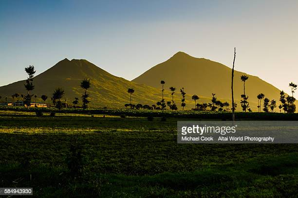 Volcanoes at Dawn
