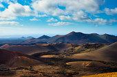 Volcanoes at Timanfaya National Park