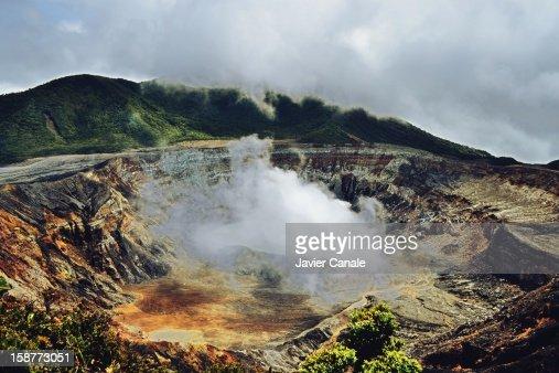 Volcán Poas : Stock Photo